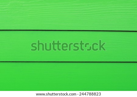 Pastel Green Color Painted on Wooden Wall. (Shade of Green Series) - stock photo