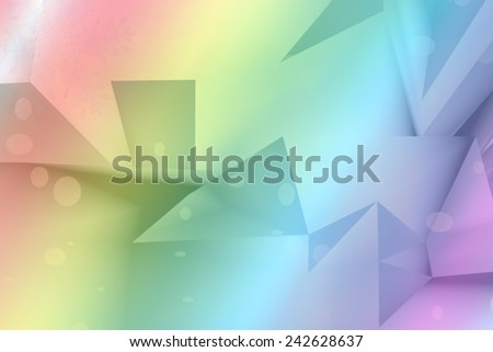 pastel party background - stock photo