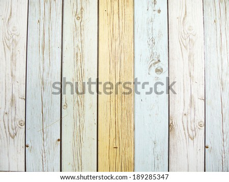 pastel wooden pattern tiles background - stock photo