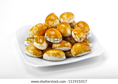 pastry food - stock photo