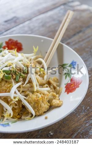 Pat Thai,Popular food,spicy ,thailand food - stock photo