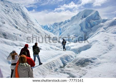 Patagonia Argentina landscape - stock photo