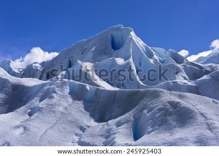 Patagonia, Perito Moreno Glacier - stock photo