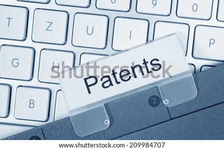 Patents - stock photo