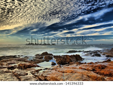 Paternoster coast / Western Cape, South Africa - stock photo