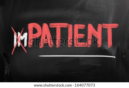 Patient Concept - stock photo