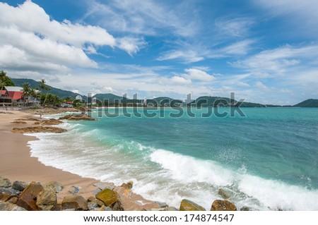 Patong Beach, Phuket, Thailand - stock photo