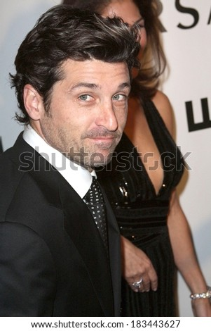 Patrick Dempsey at Whitney Museum of American Art's Gala and Studio Party 2008, Whitney Museum of American Art, New York, NY, October 20, 2008  - stock photo