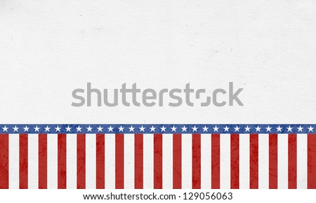 Patriotic 4th of July Background/Digital Paper - stock photo
