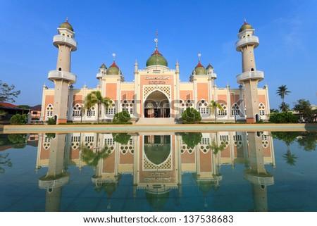 Pattani Mosque - stock photo