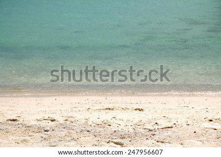 Pattaya the fine vacation spot at any time years, warm sea - stock photo