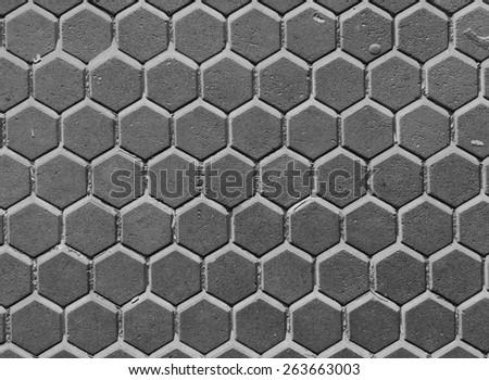 pattern cement floor - stock photo
