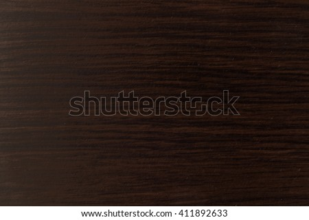 Pattern of dark wood. Lacquered wooden table surface texture. - stock photo