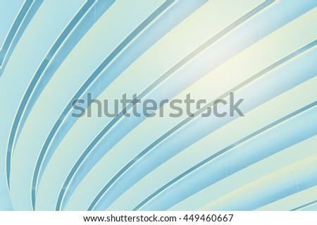 Pattern of modern ceiling with light burst. - stock photo