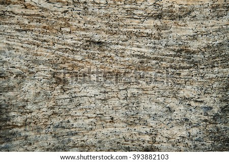 Pattern of old weathered timbered wall - stock photo