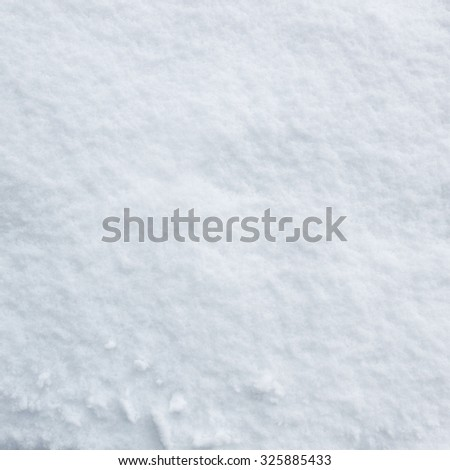 Pattern of real snow surface in winter  - stock photo