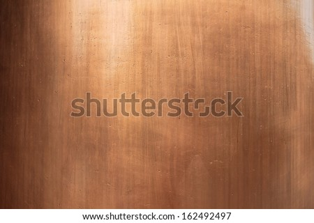 Pattern of the copper surface background - stock photo