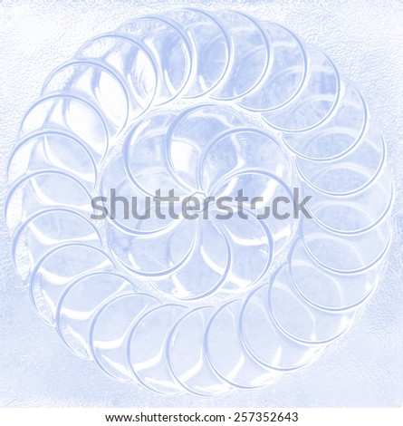 pattern on Background corrugated glass tinted photo - stock photo