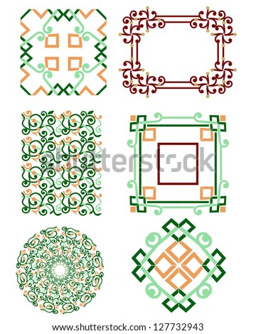 Pattern Textile Texture - stock photo