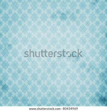 Patterned background in blue colors - stock photo