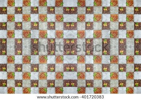 Patterns of ceramic tiles. - stock photo
