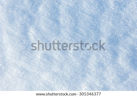 Patterns on the snow. Texture. background. snow - textured background with empty space for text - stock photo