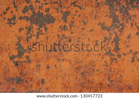 Patterns on the surface of the steel. - stock photo