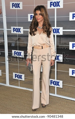 Paula Abdul at the Fox TV Summer 2011 All-Star Party at Gladstones Restaurant, Malibu. August 5, 2011  Malibu, CA Picture: Paul Smith / Featureflash - stock photo