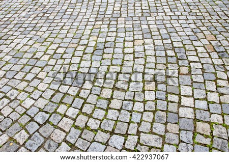Paved road suitable for background - stock photo