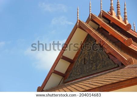 pavilion Thai - stock photo