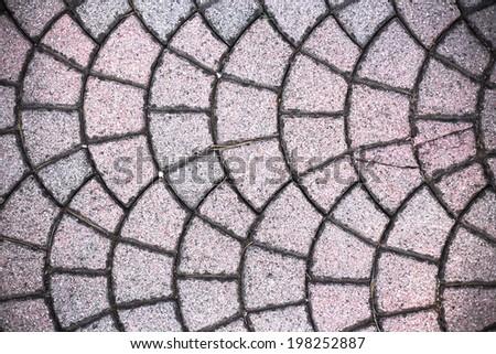 Paving Slabs. Texture.  - stock photo