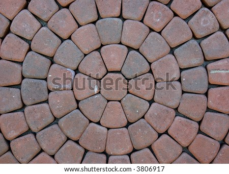 Paving stone pattern and background - stock photo
