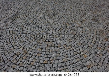 Paving stones texture - stock photo