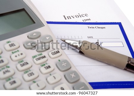 Pay the bills - stock photo