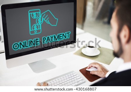 Payment Banking Transaction Accounting E-Payment Concept - stock photo