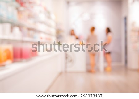Payments concept in blurry for background - stock photo