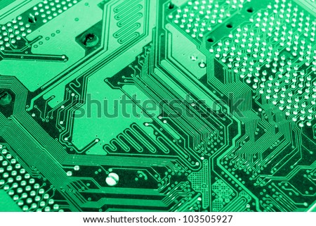 PCB - stock photo