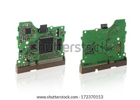 PCB Boards - stock photo