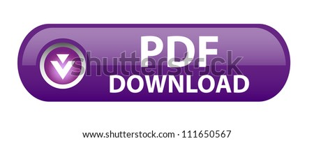PDF download button - stock photo