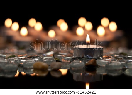 Peace and Serenity Conceptual Image - stock photo