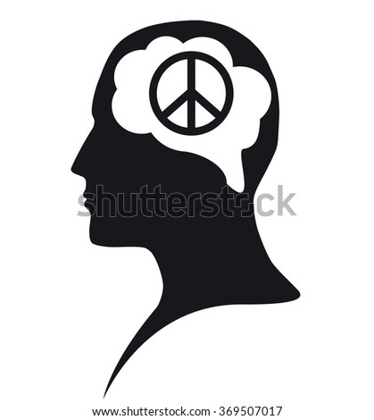 Peace in mind - stock photo