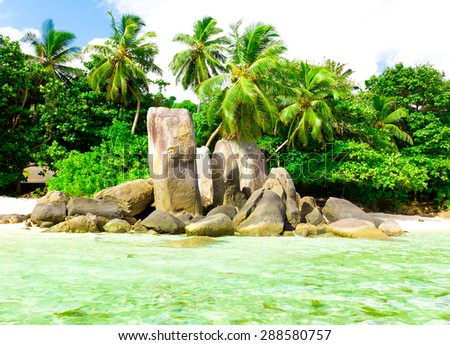 Peace Seascape Stones  - stock photo
