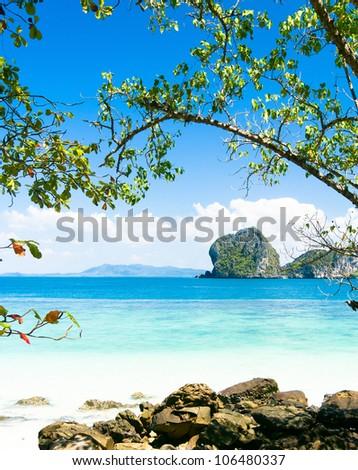 Peaceful Paradise Quiet Getaway - stock photo