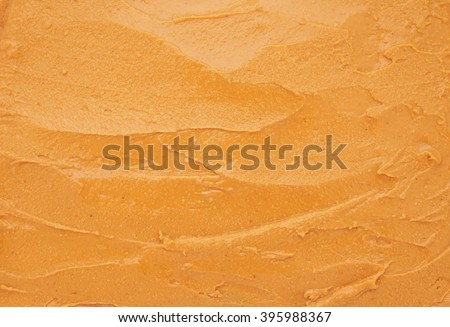 Peanut butter as background - stock photo