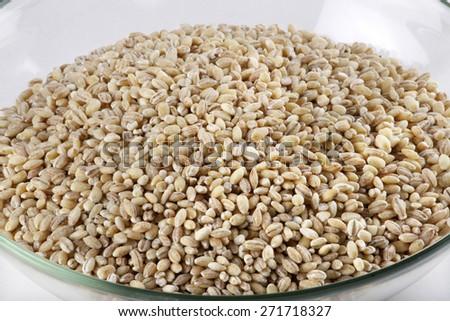 pearl barley  - stock photo