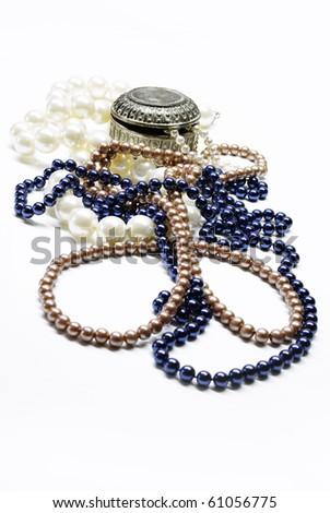 Pearls - stock photo