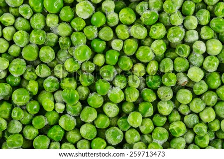 Peas background - stock photo