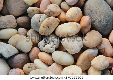 Pebble Background - stock photo