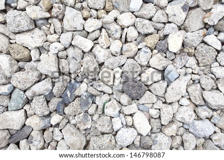 pebble stones texture  - stock photo