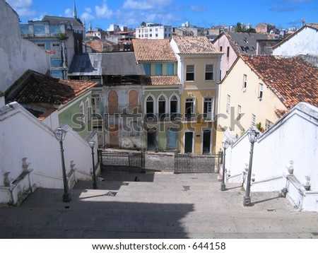 PELOURINHO 2 - stock photo